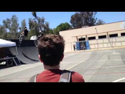 Spring Valley Middle School BMX Bike show: Mad Gear
