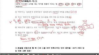 [동헌쌤과 함께국어 2] 문법문제풀이 1회차(51번~5…