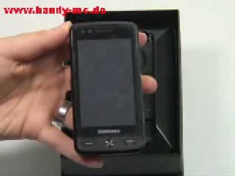 Samsung GT M8800 Pixon Test Erster Eindruck