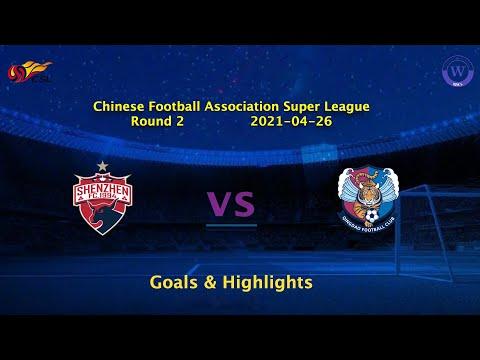 Shenzhen Qingdao Huanghai Goals And Highlights