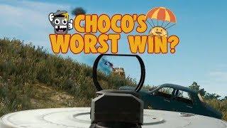 chocoTaco Thinks This is His Worst Win - PUBG Game Recap