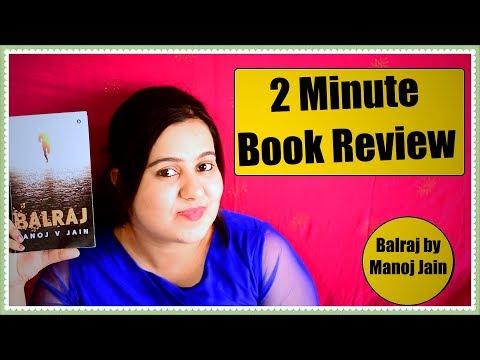 Balraj by Manoj V Jain | Book Review | Easy Reads