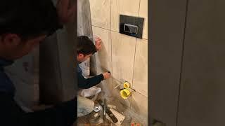 Vitra gömme rezervuar kapak ve artema taharet musluğu montajı