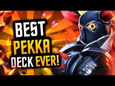 Best NEW PEKKA Deck :: DOMINATE Ladder 3000-6000 TROPHIES!