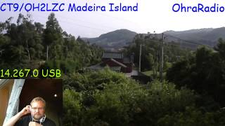 CT9/OH2LZC Madeira 14.8.2018