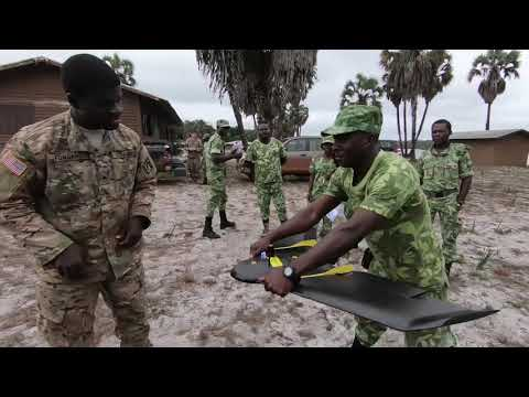 DFN:CITT Mapping Drone Training GABON 09.26.2018