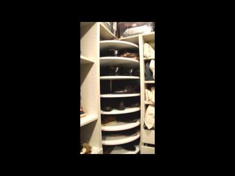 Novedosas zapateras giratorias circulares youtube for Modelos de zapateras de madera modernas
