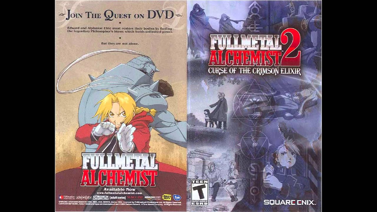 cebecdc786286 Fullmetal Alchemist 2: Curse of the Crimson Elixir -