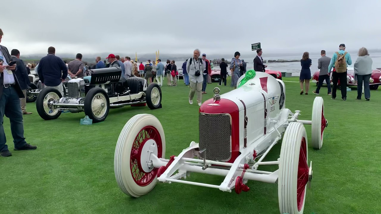 A stroll at the Pebble Beach Concours 2021 #motorious #pebblebeachconcours
