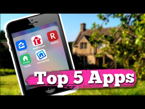 5 Top Apps For First Time Home Buyers | Top Real Estate House Hunting Apps