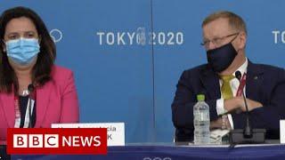 Australian Olympic boss in awkward 'mansplaining' row - BBC News