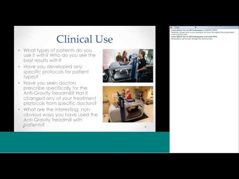 AlterG Webinar Series - Round Table with AlterG Customers
