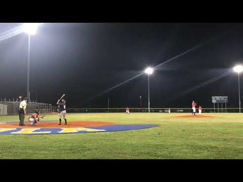 Peyton Ballantyne [ Calvary Christian High School C/O '22 ] Single to Right Field 11/8/2018