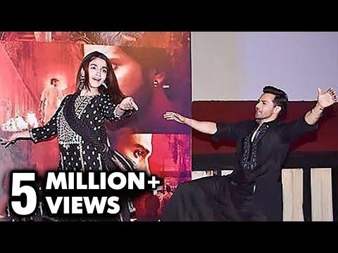 Alia Bhatt Dances On Ghar More Pardesiya LIVE With Varun Dhawan | KALANK