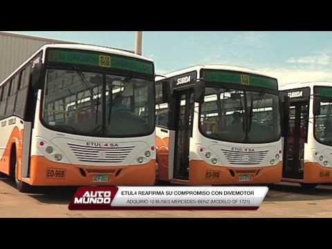 Mercedes-Benz y ETUL4 (entrega de buses)