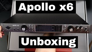 Universal Audio Apollo x6 Unboxing