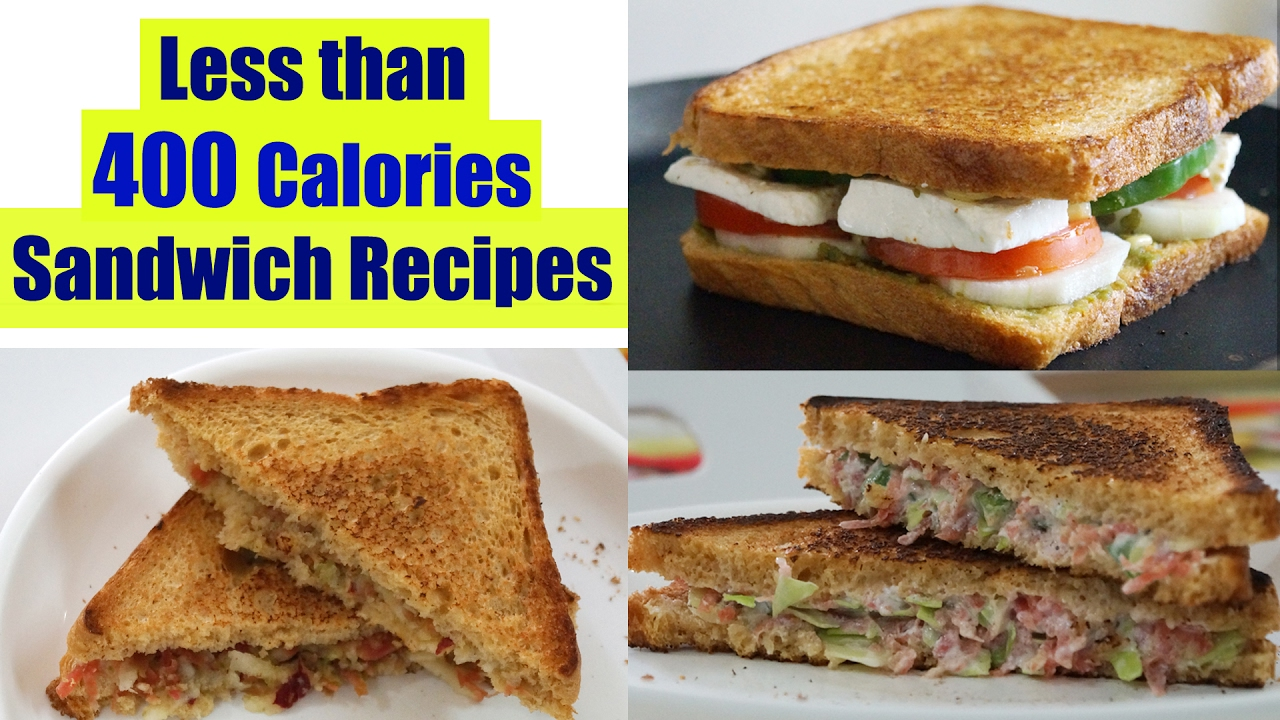 4 Healthy Sandwich Recipes Weight Loss Recipes Healthy Breakfast Ideas In Hindi