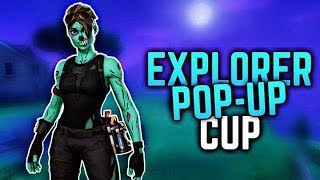 DUO EXPLORER POP-UP CUP FT QTREQ ❄️ // FORTNITE BATTLE ROYALE ❄️ // (NL)