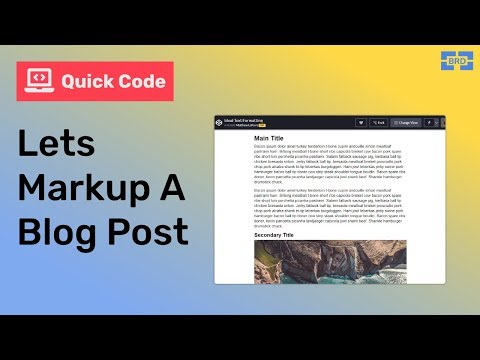 Effectively Markup A Blog Post With HTML & CSS: No Commentary