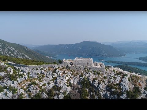 City walls of Ston in 4K
