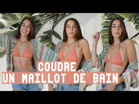 Tuto Couture ⎮Coudre Un Maillot De Bain Réversible 2 Pièces Avec Les Patrons ! (Niveau Debutant)