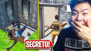 I FOUND THE SECRET PLACES OF THE NICE PARK!! | FORTNITE