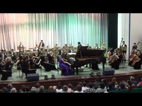 G.Gershwin Rhapsody In Blue - Elvira Shukurova, Conductor Alibek Kabdurakhmanov