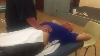 Abdominal Massage - Part 6 of Brandon working on Tim