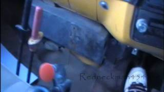 chevy 427 dump truck cold start and split gear shifting
