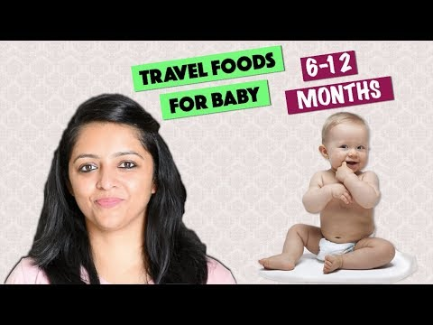TRAVEL FOODS FOR BABY || 6-12 MONTHS OLD