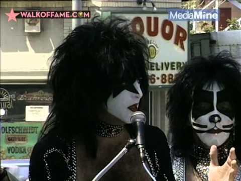 KISS' Official Hollywood Walk of Fame Ceremony