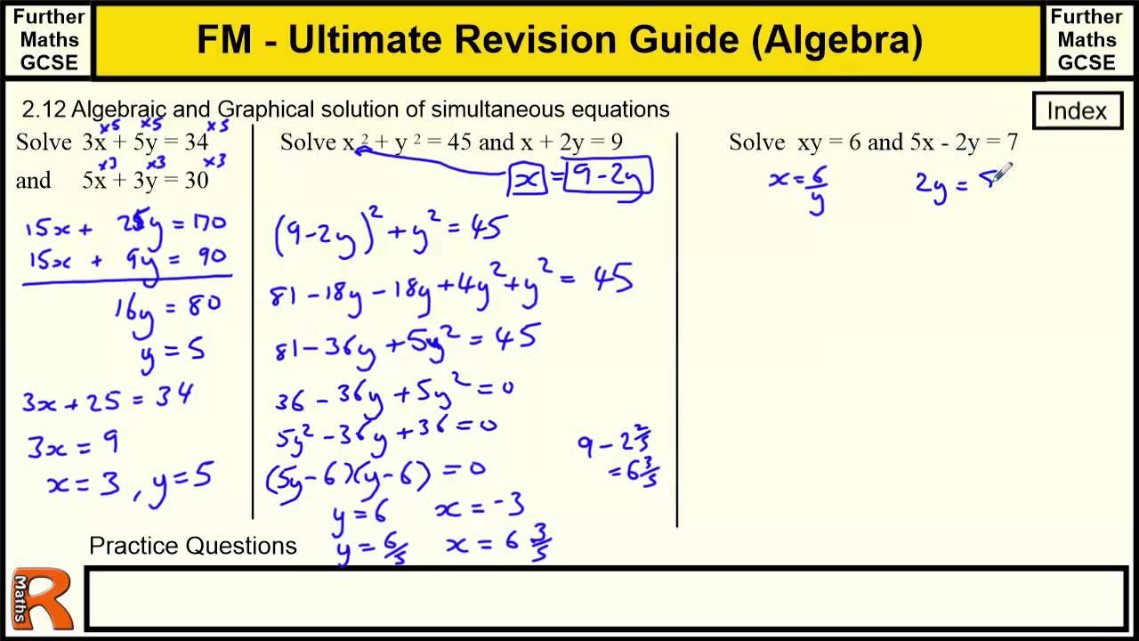 aqa maths gcse revision guide