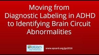 Moving from Diagnostic Labeling in ADHD to Brain Pattern Classifications