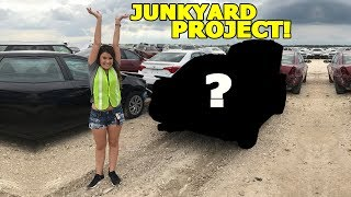 OUR NEW JUNKYARD PROJECT CAR!