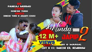 NINDA JAPIT 2// 4k VIDEO SONG//DINESH TUDU//NEW SANTHALI VIDEO 2020