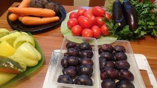 Заготовка овощей и фруктов на зиму /Заморозка овощей и фруктов