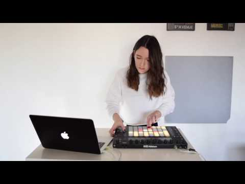 Allya - My first Ableton Push Live Performance