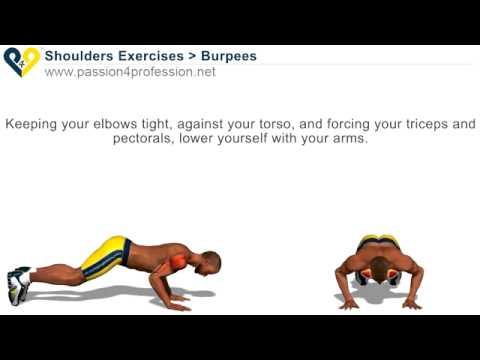 Bài tập nâng cao với cơ tay, vai, ngực, mông