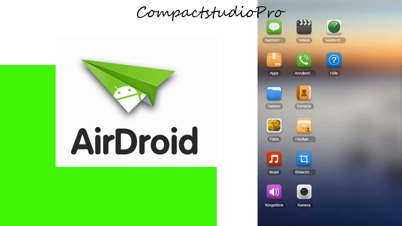 airdroid handy mit computer ber wlan verbinden youtube. Black Bedroom Furniture Sets. Home Design Ideas