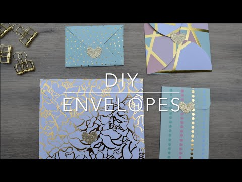 DIY Envelopes! For Wedding, Birthdays, Any Special Occasions!
