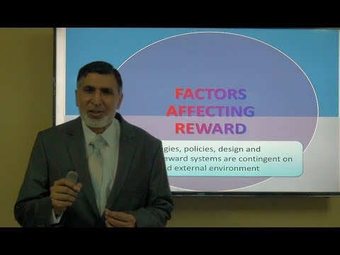 Reward Management L4 Factors Affecting Reward Dec 2018 Saber Hussain Youtube
