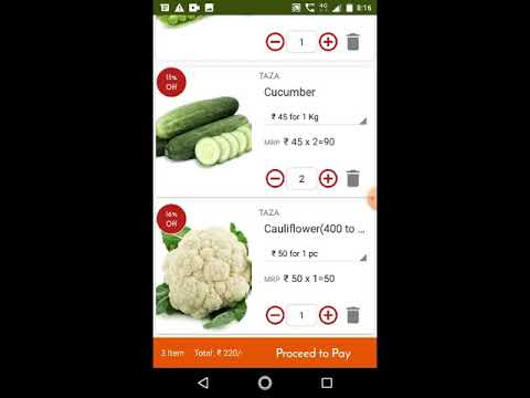 Taza Sabji App thumb