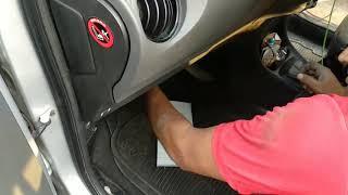 Toyota Etios AC filter cabin air filter change