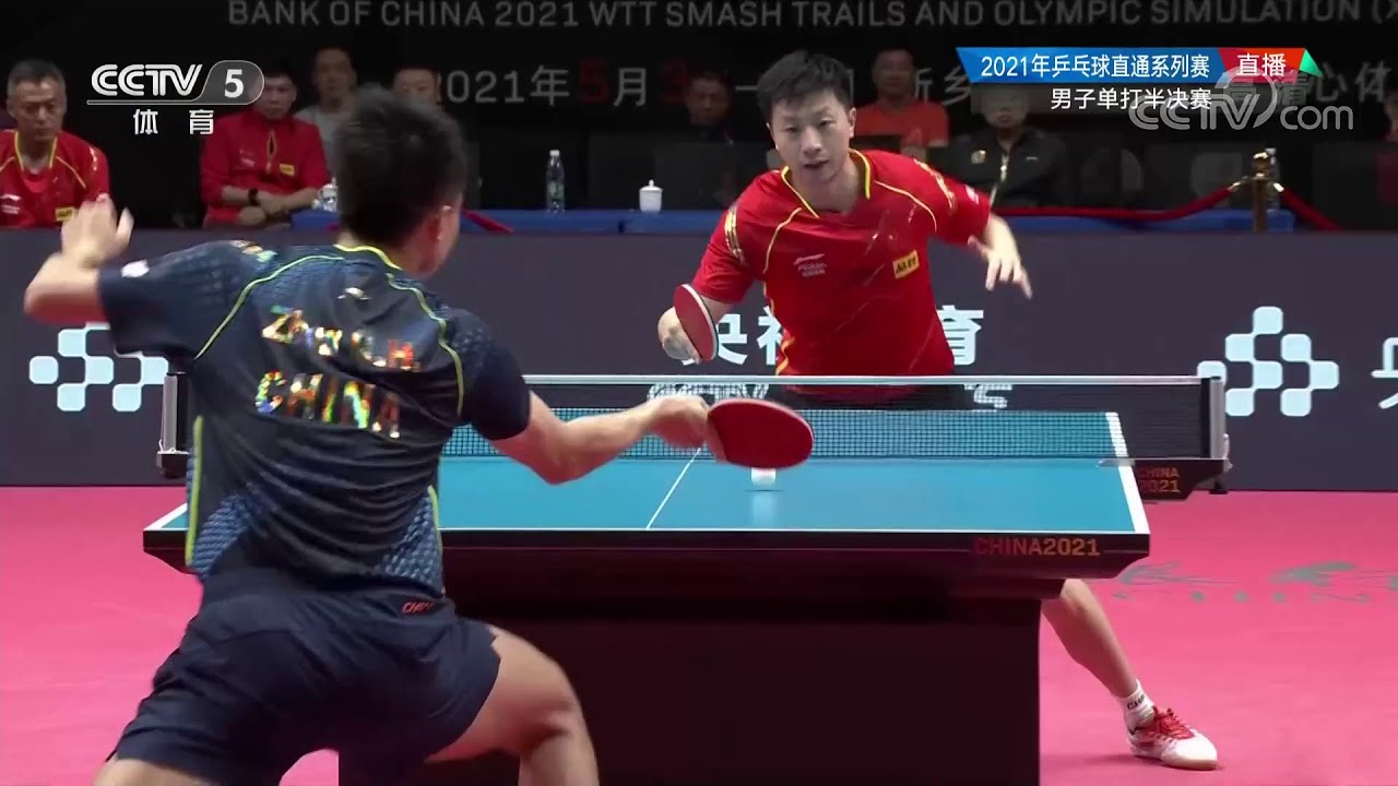 Download Ma Long vs Zhou Qihao | Semifinal 2021 Chinese WTT Trials and Olympic Simulation