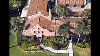 Donald Trump's Palm Beach Home - Aerial Views Google Maps Free HD Video