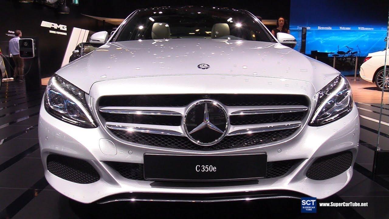 2017 Mercedes Benz C 350e Plug In Hybrid Exterior And Interior Walkaround Detroit Auto Show