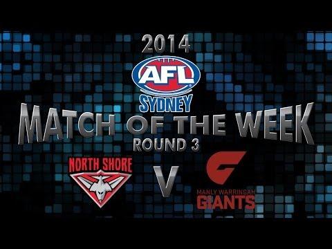 2014 AFL Sydney Round 3 - North Shore v Manly Warringah