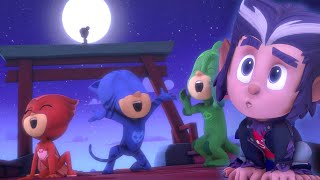 Halloween Tricksters Part 1 and 2 | PJ Masks Official