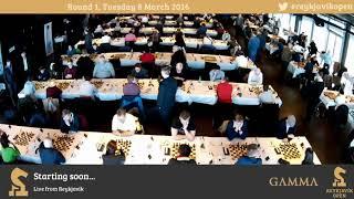 2016 Reykjavik Open Round 1