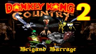Diddy only - Donkey Kong Country 2: Brigand Barrage (Boss Rush) (SNES Rom Hack)
